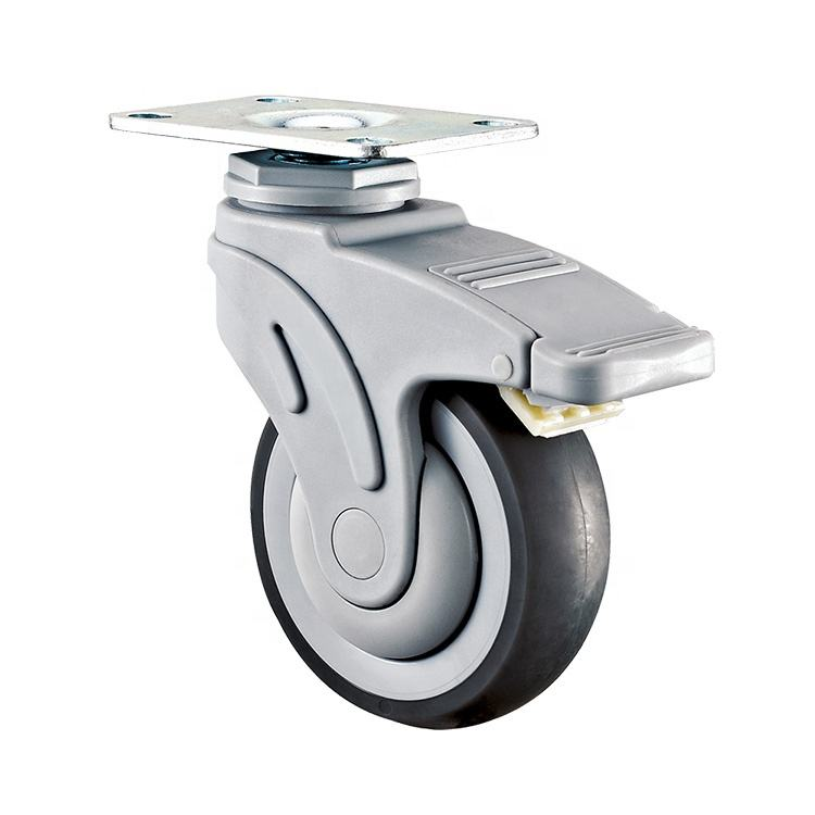 WBD medium duty hospital equipment caster , medical wheel 3inch 4inch 5inch
