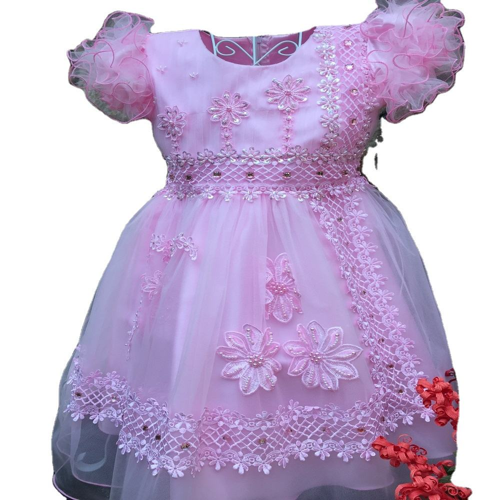 baby girl dress flower girl dress low price good quality 1-10 years from viet nam