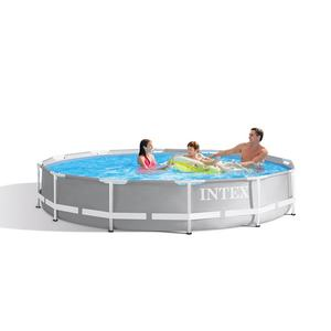 INTEX NO.26712 12FT X 30IN Prism Frame Premium Pool Set with 220-240V Filter Pump