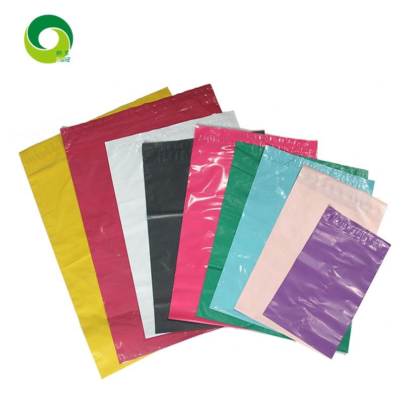Shipping Mailing Bag Envelopes Polymailer Courier Bag High Quality Custom Poly Mailer Plastic LDPE Shrink Bag Offset Printing
