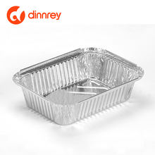 650ML Aluminium Foil Container Serving Trays Takeaways aluminum pans aluminium food box disposable foil  Tray