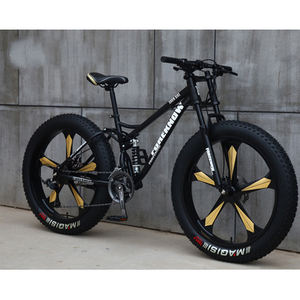 Excellent bikes 26 inch mountain bike model fat bike /steel material 7 speed snow bike / fat mountain bike