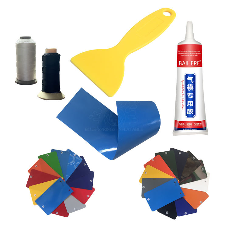 Repair Kits for inflatable tent, inflatable castles, inflatable slide and water park