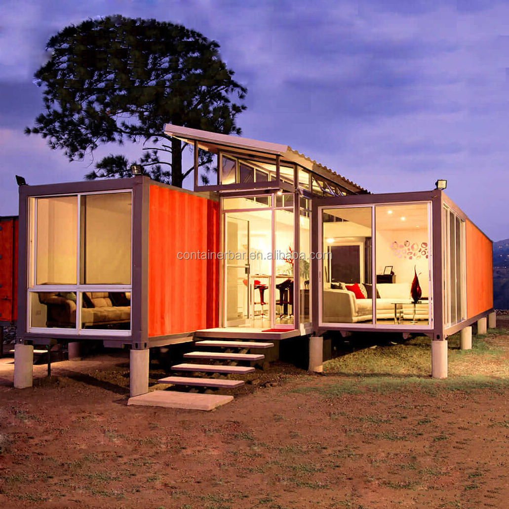 Durable Modular Cabins Prefab Flat Pack Storage Container