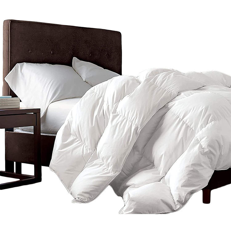 Hotel goose duck down duvet quilt wholesale home use bedding and luxury bed quilt/duvet/comforter