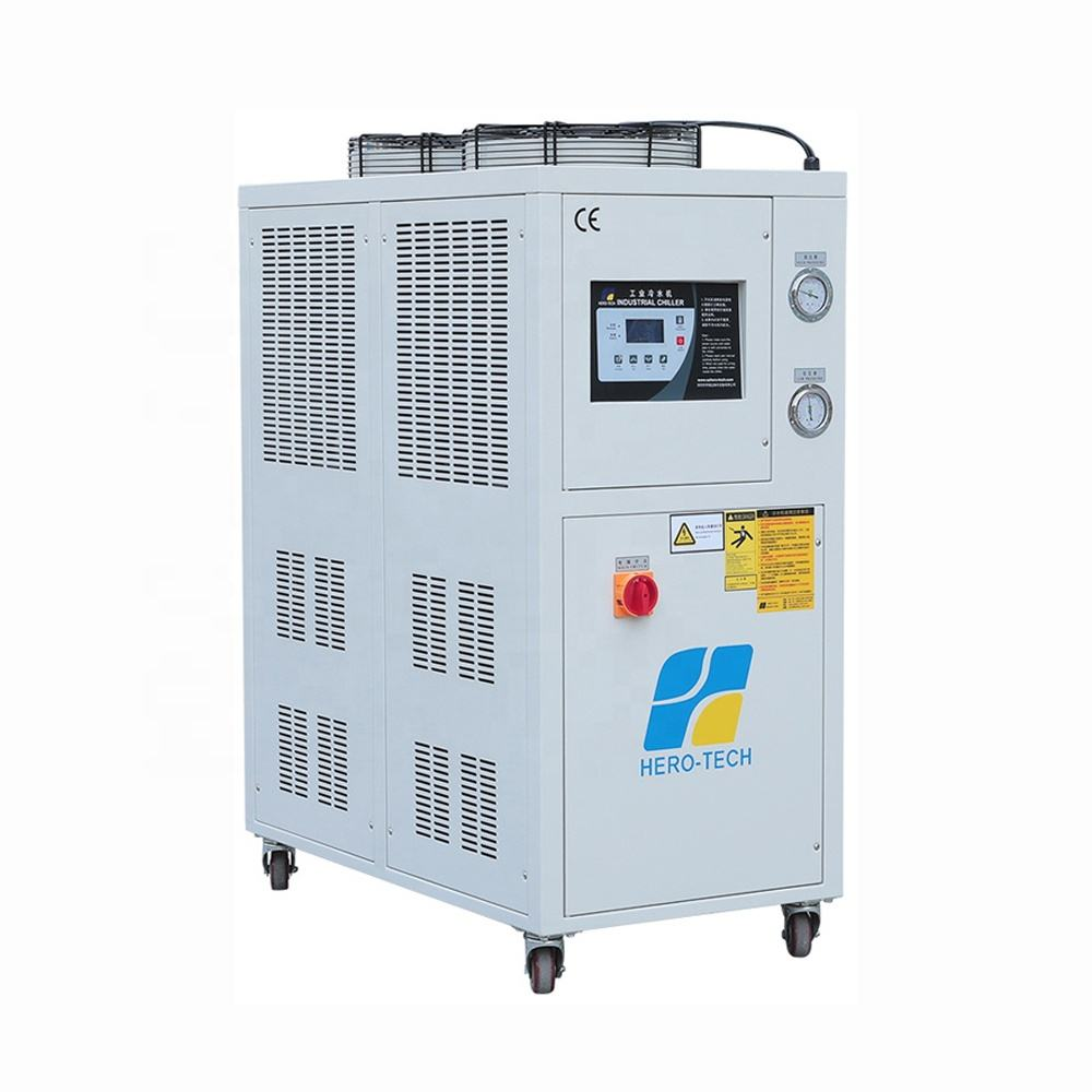 6HP 5ton industrial Air Cooling Water Chiller unit for Molding Industry