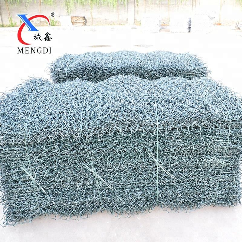 Good Quality PVC Coated Gabion Wire Netting For Gabion Mesh Box