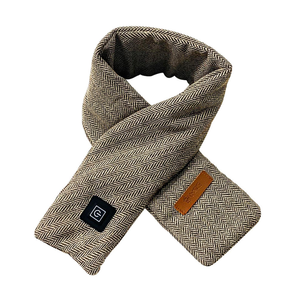 Graphene thick Cashmere hot compress electrical scarf Women Tassel Shawls Wraps Scarves Winter warm waterproof heated neck scarf