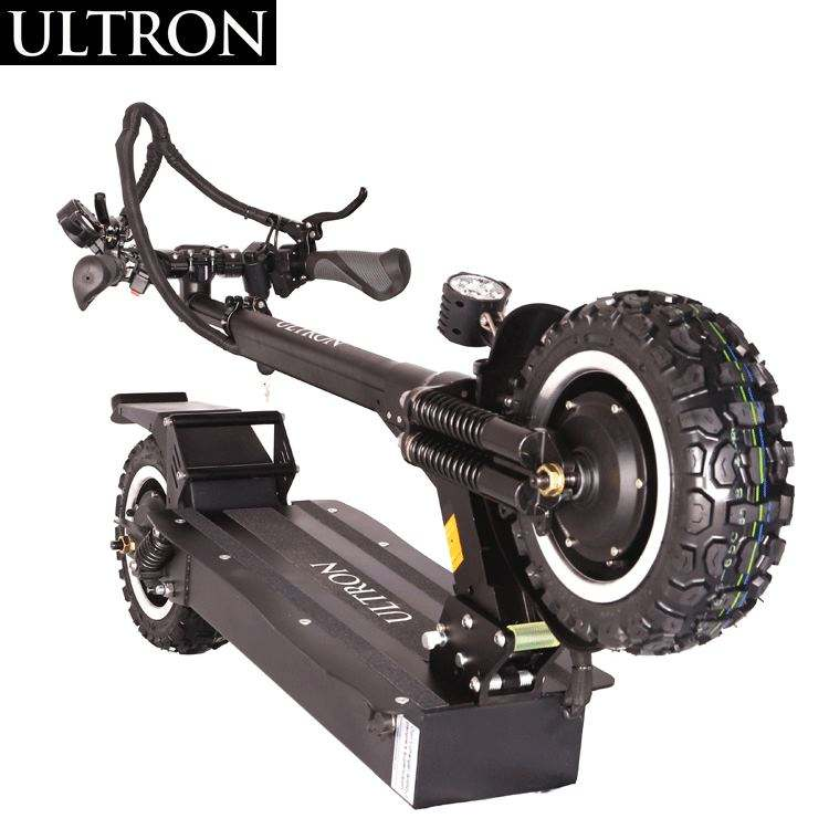 Newest 10 Inch 60V2400W Dual Motors Fast Charging ULTRON T10 Electric Scooter