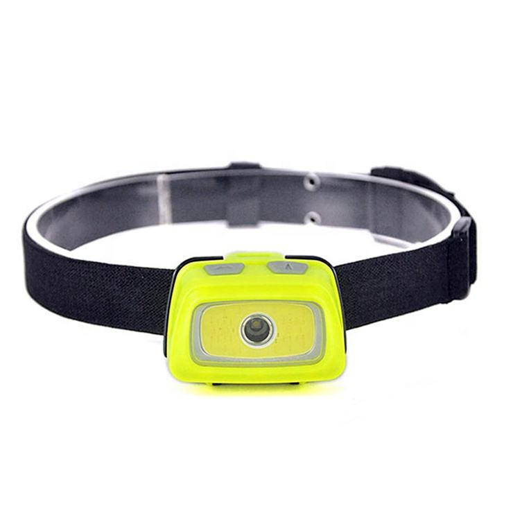 Outdoor Waterproof Headlamp Flashlight Emergency Warning LED Head lamp With Multiple Modes For Running, Hiking