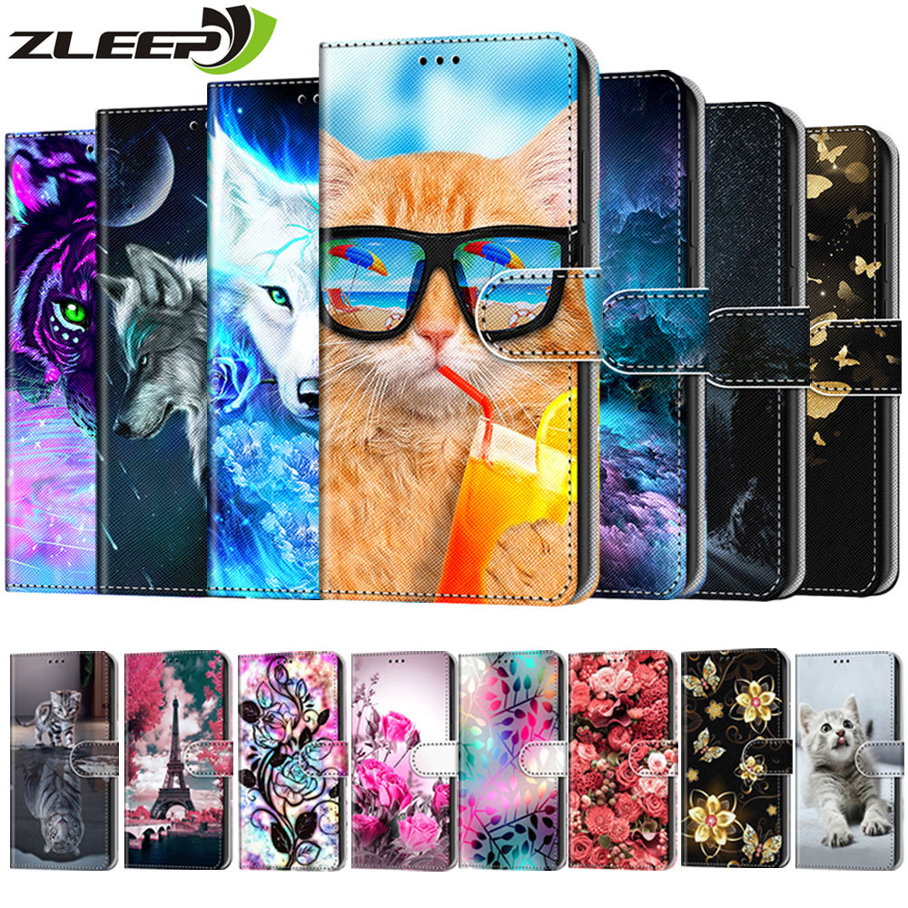 Flip Phone Case For Nokia 1 2.1 2.2 3 3.1 4.2 5 5.1 6 2018 6.1 5.1 2.3 Plus X5 Cover Wallet Etui Leather Coque Cards Holder Capa
