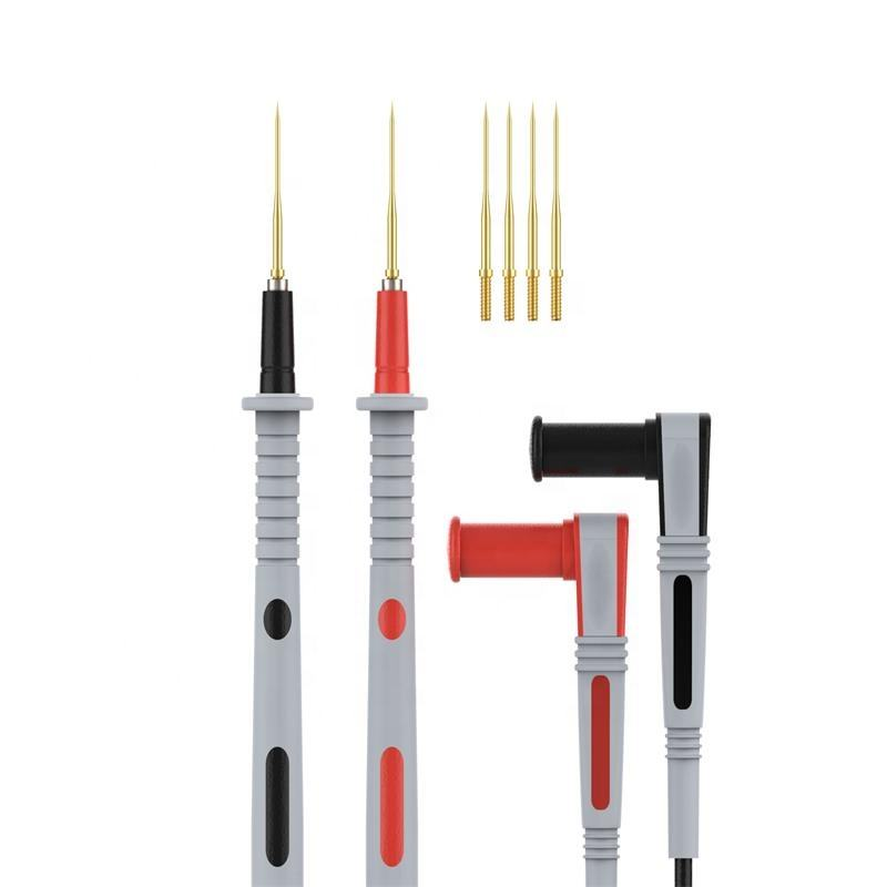 Electronic Test Lead Kit Digital Multimeter Lead Pen With Alligator Clip Replaceable Multimeter Probe Tip Set 14