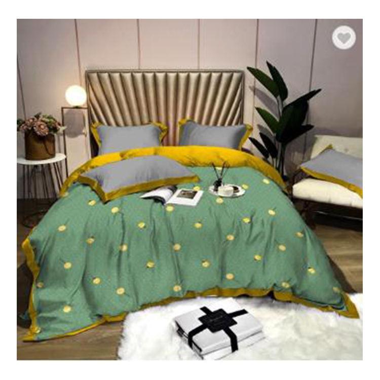 Высокое качество постельных принадлежностей tencel feeling 100% полиэстер принт оптовая продажа простыня