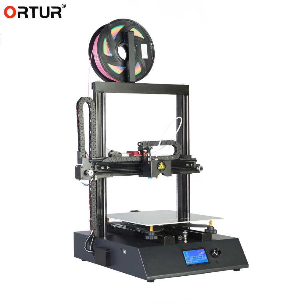 ORTUR 2019 New Ortur 4 V1 3D Printer Linear Guide Rail 3D Drucker Metal 3D Printer Machine 3D Printing Popular FDM 3D Printer