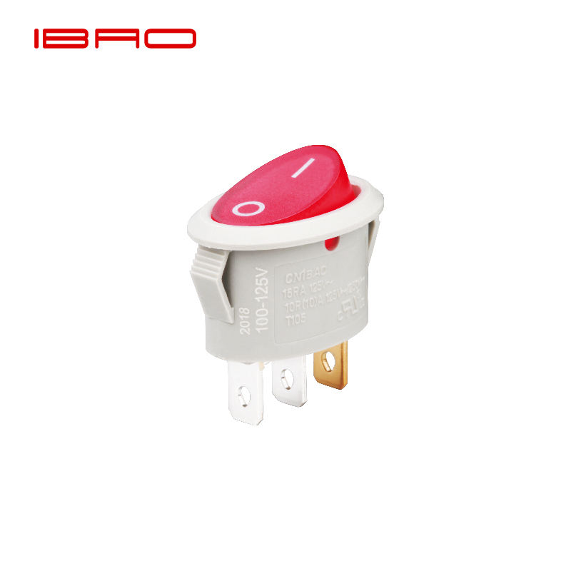IBAO RCA Series waterproof boat panel 3 way t85 55 t120/55 250vac 16a t100/55 3 position round wiring diagram rocker switch