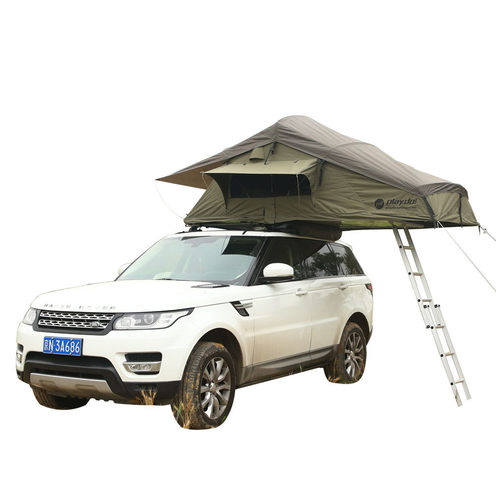 Off Road Canvas Car Roof Top Tent Camping Outdoor 4wd Rooftop Pop Up Camper