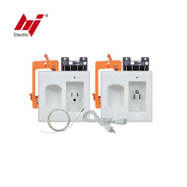 In Wall Inbouw Pro Power Installatie Kit Tv Connection Kit