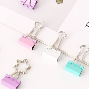 Candy Kleur Metalen Bulldog Clips 19Mm