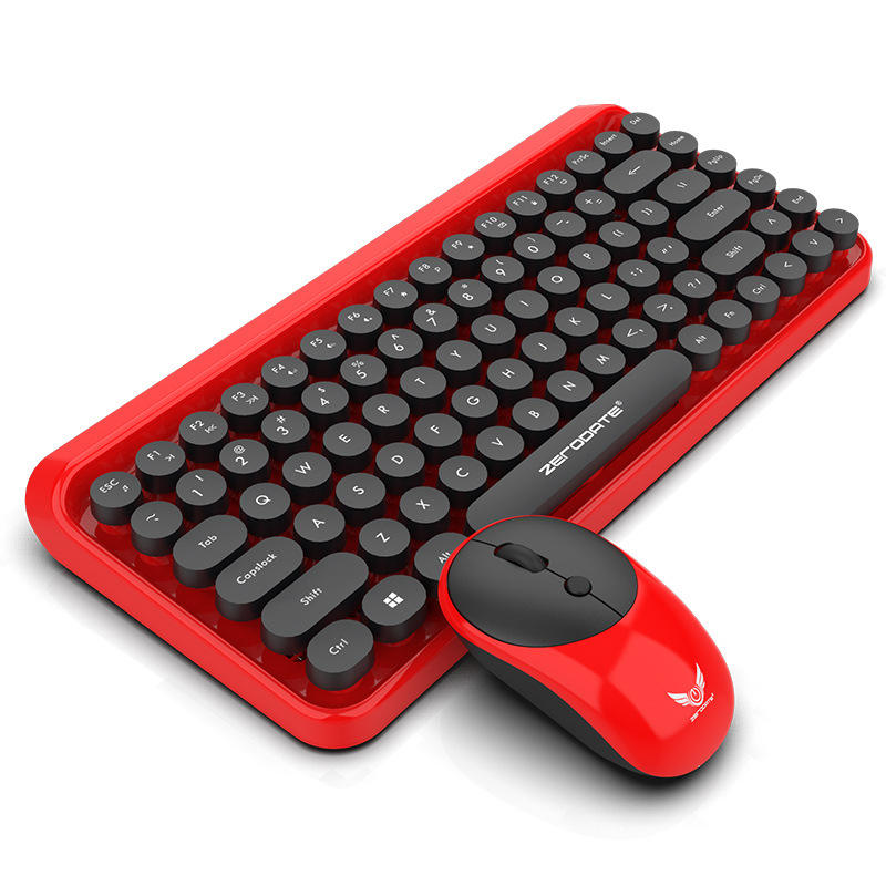 High quality wireless keyboard mouse combo, keyboard and mouse bluetooth combo with multiple system operations