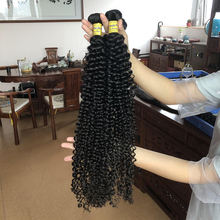 JP Hair Long Lasting Curl Holding afro Virgin  Mongolian Kinky Curly Hair,unprocessed virgin 7a mongolian human hair weft