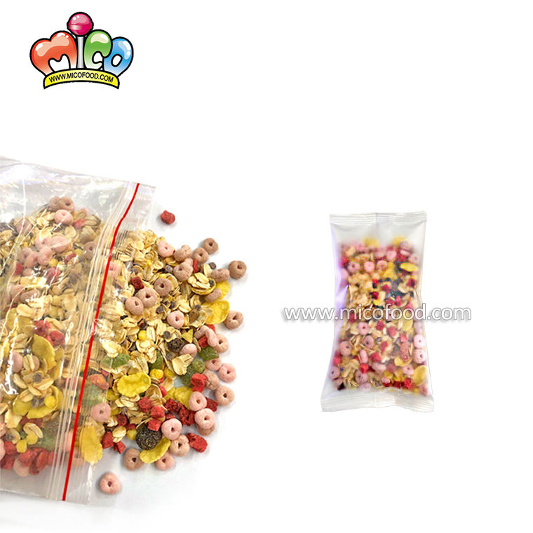 2020 New item oatmeal snacks with mixed fruit cereals