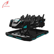 Lechuang New Technology 9D VR Simulator VR Warship Theater 6 Seats With VR Games and Movies