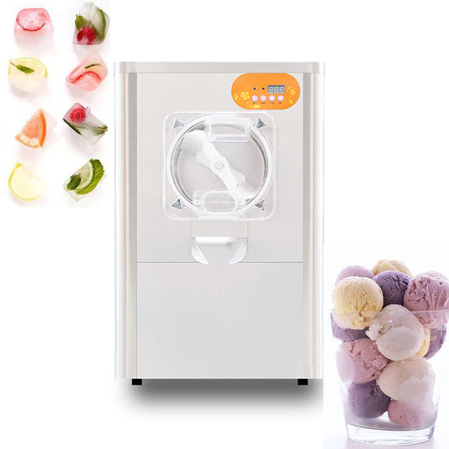 Table Top Gelato Machine Hard Ice Cream Machine Commercial Frozen Freezer Gelato Ice Cream Making Machine For Sale