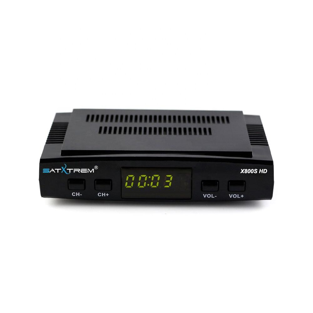 Satxtrem X800S HD Satellite TV Receiver Support Cccam DVB S2 h.265 Hevc Satellite Receiver 1080P Receptor TV Tuner
