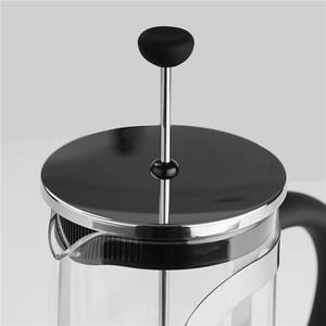 Customized LOGO 304 Food grade Stainless Steel Plunger Coffee Tea Makers French Press To Go