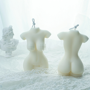 Z134 Hand made candle DIY mold female body silicone mold