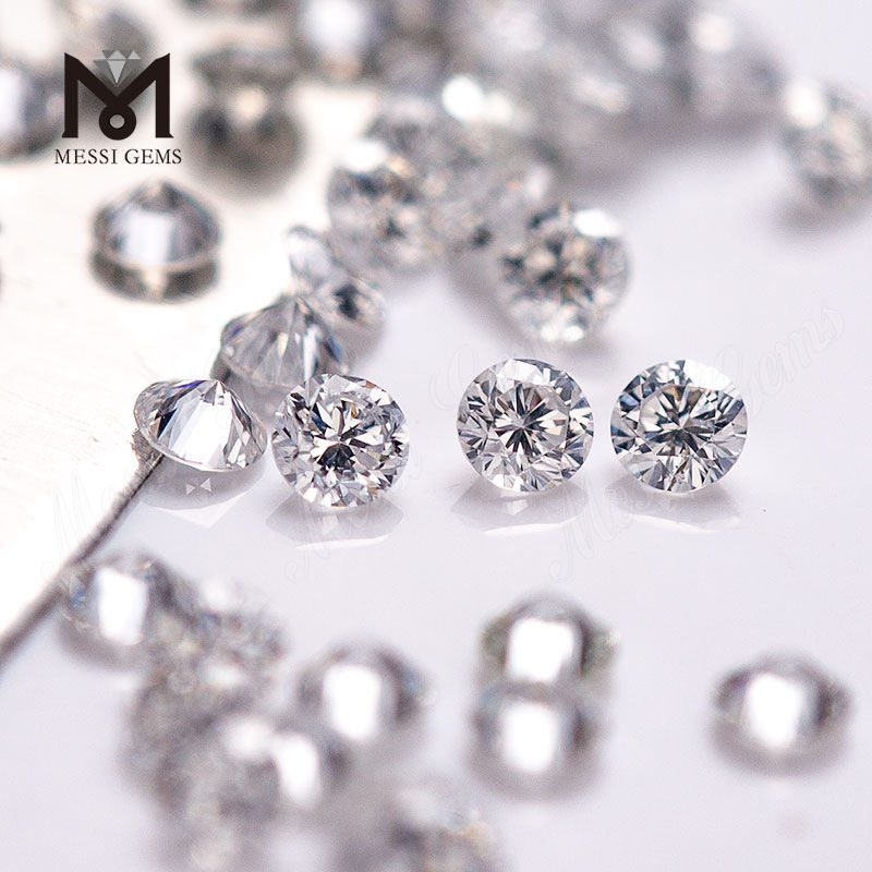 1.25-1.8ミリメートルPrice Per Carat DEF SI1 Excellent Polished Round Brilliant HPHT Loose CVD Diamond