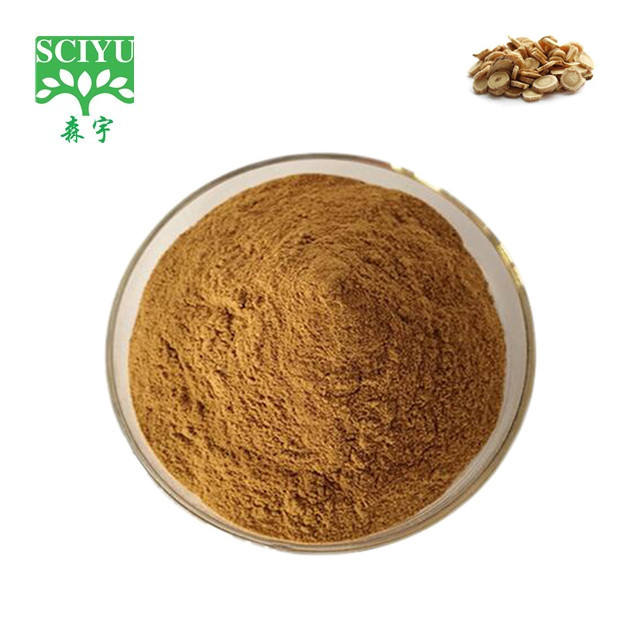 Chinese Herbal Ingredients Astragalus Root Extract Astragalus Extract Polysaccharide 10%-50% By UV