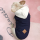 Dog Cotton Padded Jacket Winter Coat for Cat Cold Weather Coats Fleece Warm Vest for Pet Dog Clothes hoodies