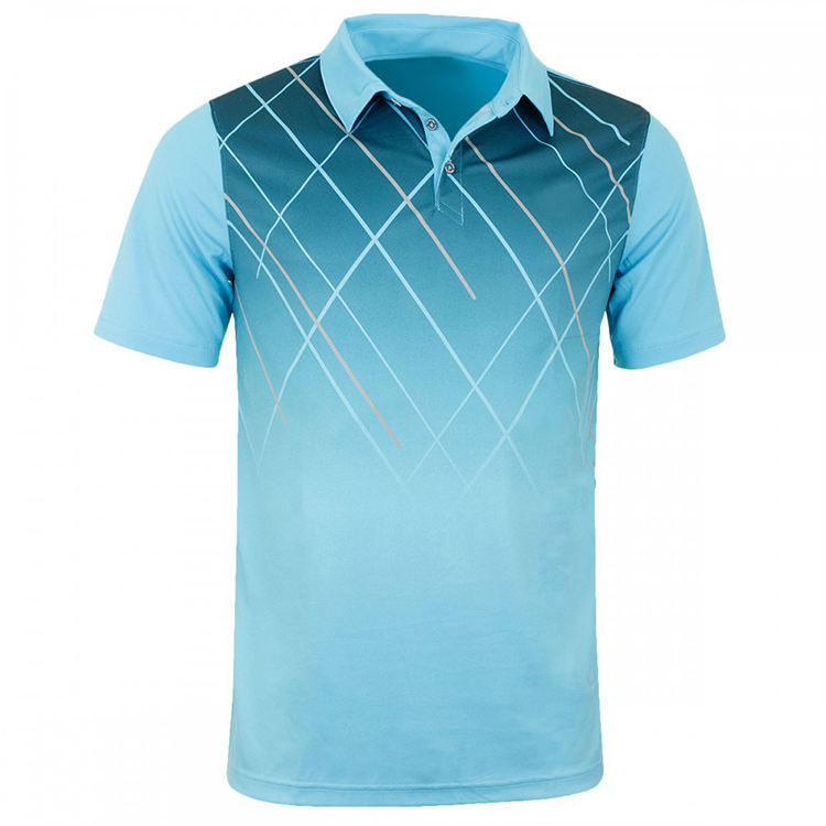 Custom high quality low MOQ polyester dry fit sublimated polo shirt