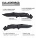 Folding Knife Pocket Knife Low MOQ Custom Stainless Steel Military Hunting Camping Tactical Folding Army Pocket Survival Knives
