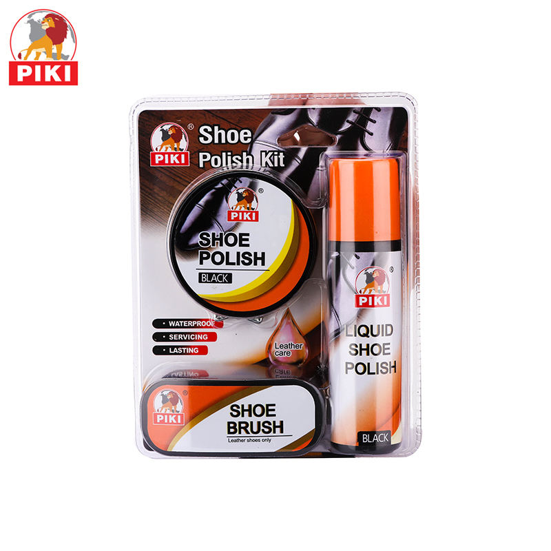 Simple Operation Household Polishing Nourishing Shoe Shine Shoe Liquid Polish Shoe Care Set