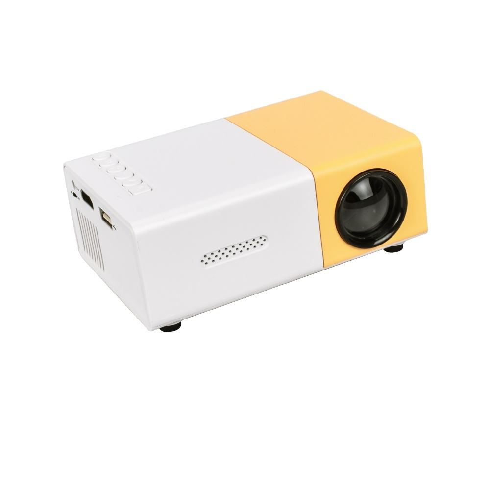 Salange YG300 Mini Projector 600Lumen Home Cinema Beamer Blue Red 3D LCD LED Proyector Support 720P kids proyector