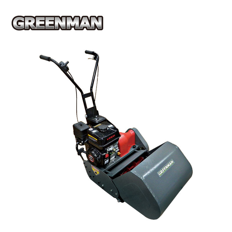 "20"" residential reel mower with 6 blades Loncin engine cylinder mower"