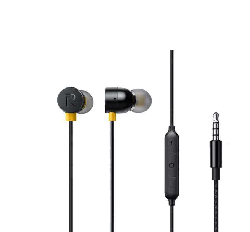 realme Buds 2 Earphone 3.5mm Earbuds In-Ear Wired Magnetic Earphone Music Headset For Smartphone realme 6 Pro 6 6i X50 Pro X2