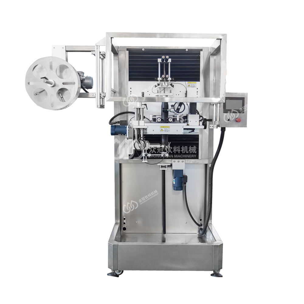 Automatic Shrink Sleeve Labeling Packing Machine For PET Bottle Cap With Price / Cost