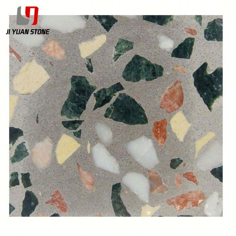 Special Offer Floor Press Cement Cheap Terrazzo Tiles For Indoor Decoration