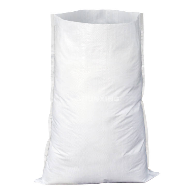 Wholesale 25kg 50kg polypropylene plastic white rice flour packaging bags