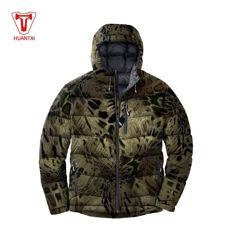 Jaquetas de Camuflagem Casaco de Inverno À Prova D' Água Caça Camo Caça Aquecida