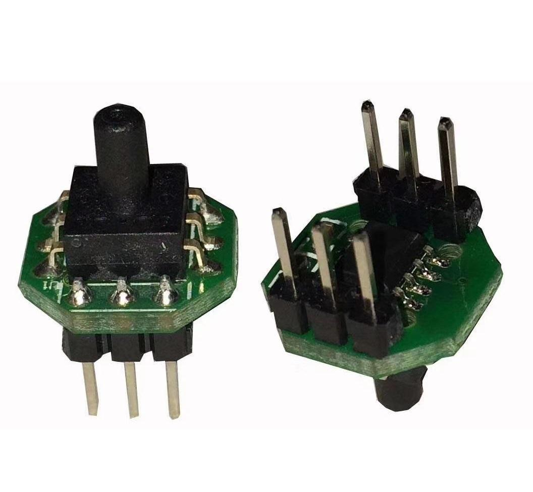 PCB Mounted Medical Air Pressure Sensor Module MEMS I2C Output