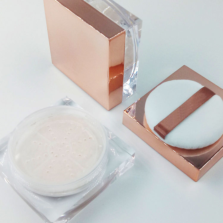 OEM private label face loose powder finishing powder makeup smooth silky mineral face powder makeup