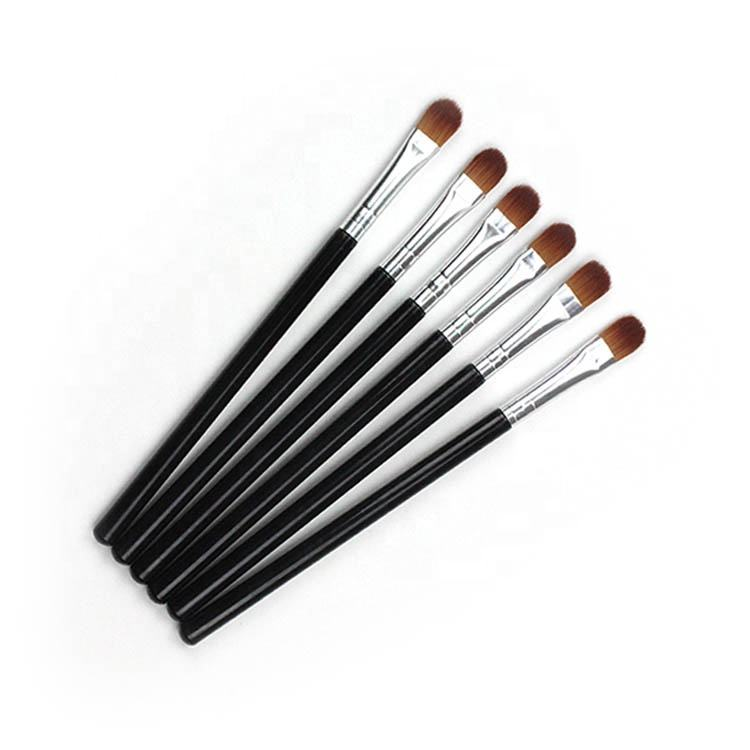 Factory wholesale brush private label single mini flat eyeshadow brush concealer makeup brush
