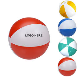 Hot Selling Factory Price Colorful Customized PVC Beach Ball PVC Inflatable Beach Ball with logo Printing