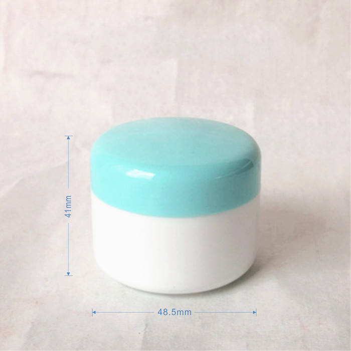 Großhandel eco friendly cosmetic leere creme container glas mit deckel