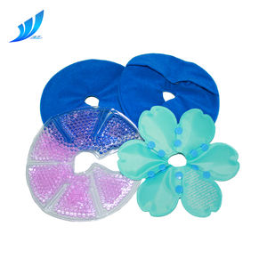 Chest breast gel beads hot cold pack