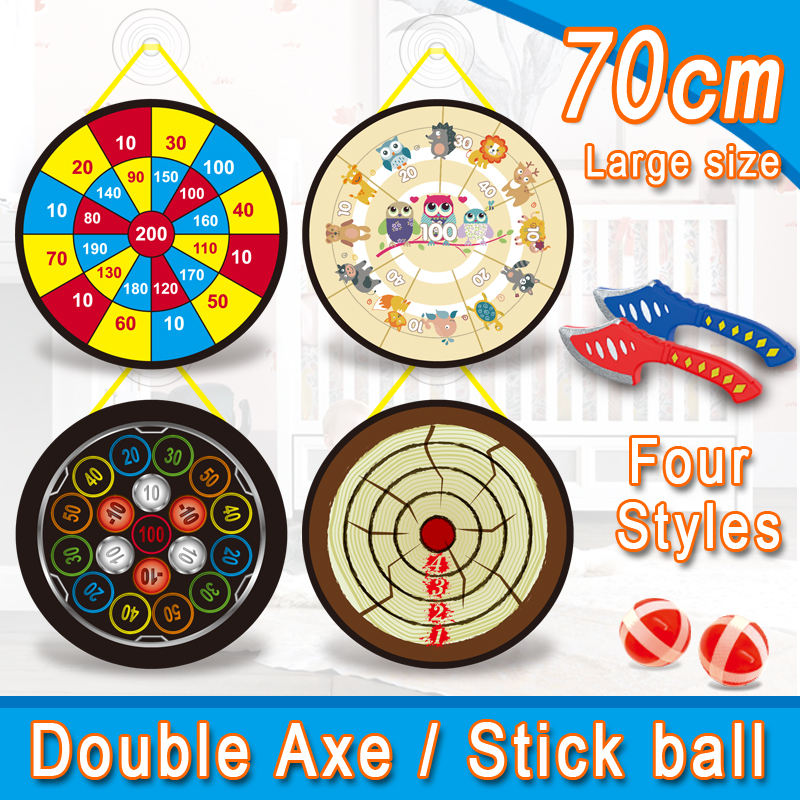 Flying axe throwing game target shooting indoor/outdoor sports toys for children